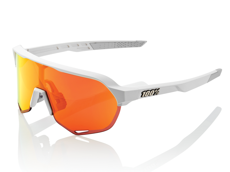 100% S2 - Hiper Mirror Lense - matte off white