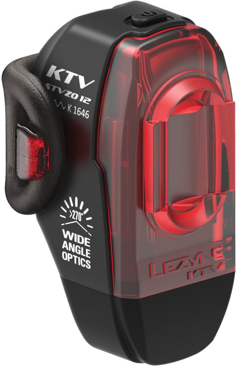 Lezyne LED Fahrradbeleuchtungsset KTV Alert StVZO Rücklicht
