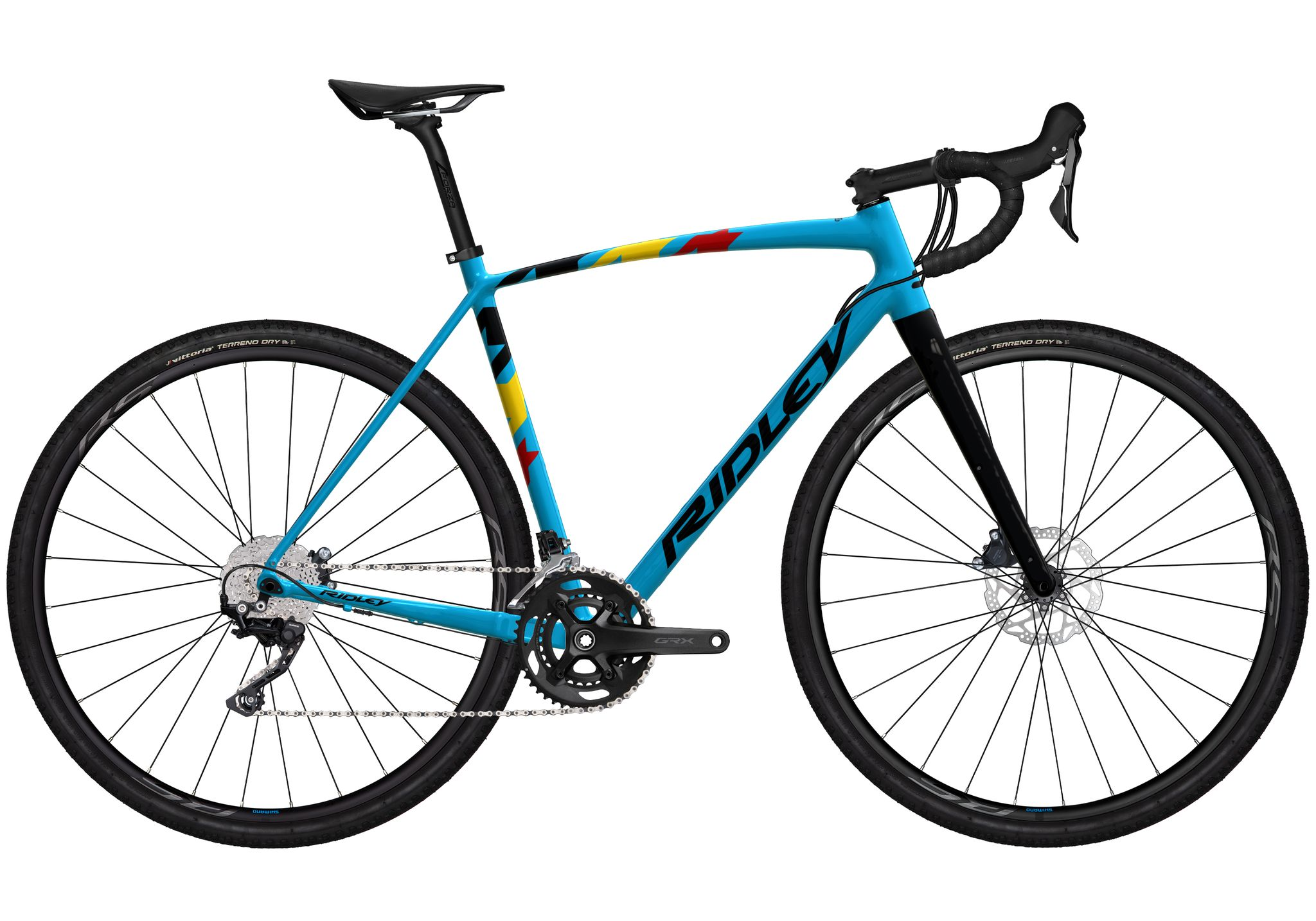 Ridley Kanzo A GRX 600 - Belgian Blue Glossy (2022)