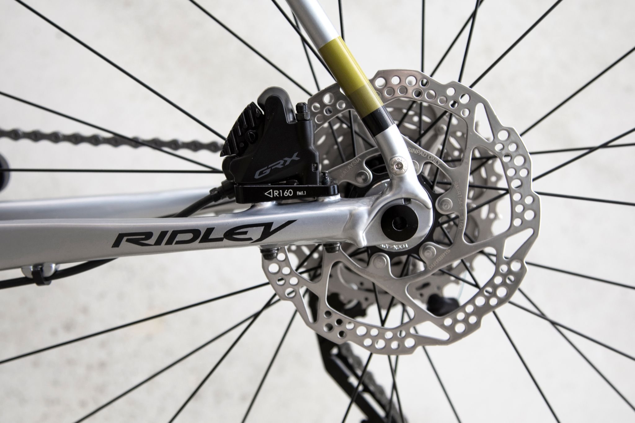 Ridley Kanzo A GRX 600 - Silver Powder Coating