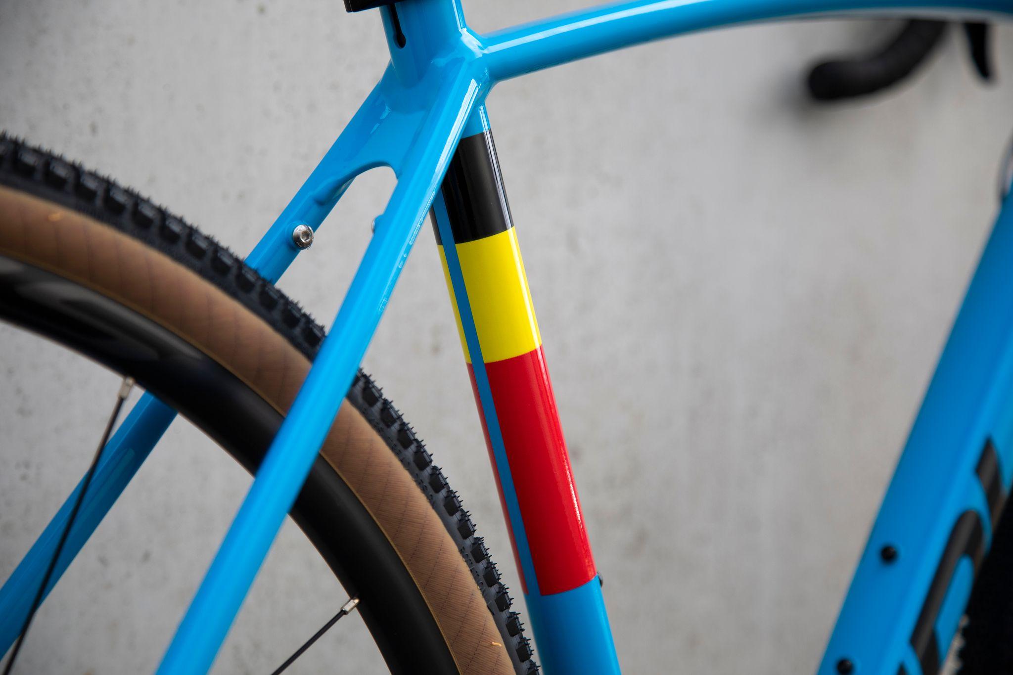Ridley Kanzo A GRX 600 - Belgian Blue Powder Coating