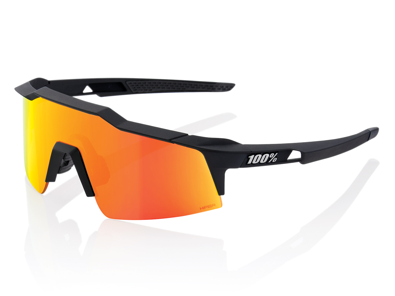 100% Speedcraft XS - Hiper Mirror Lense - soft tact black
