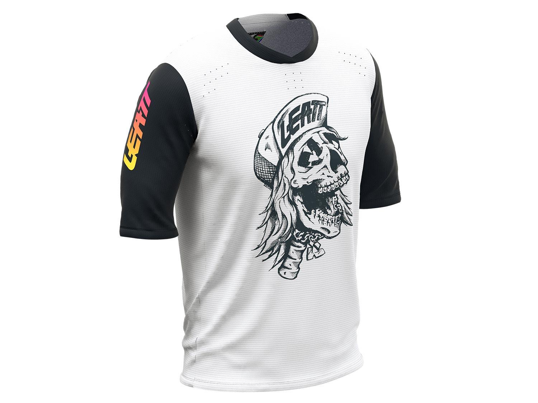 Leatt MTB 3.0 Jersey 2021 80s Skull - Limited Edition